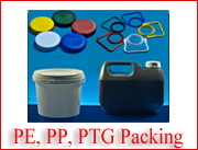 PE, PP, PETG Packings